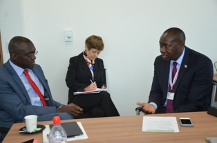 Minister Konneh Leads High Power Government Delegation to Lima - Peru