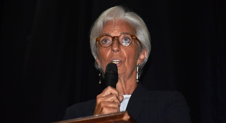 IMF Chief speaks of Liberia's path to economy prosperity-Wants Liberia diversified economy, revitalized electricity, agriculture