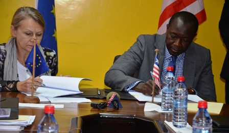Government of Liberia and European Union Sign US$64 Million Pact