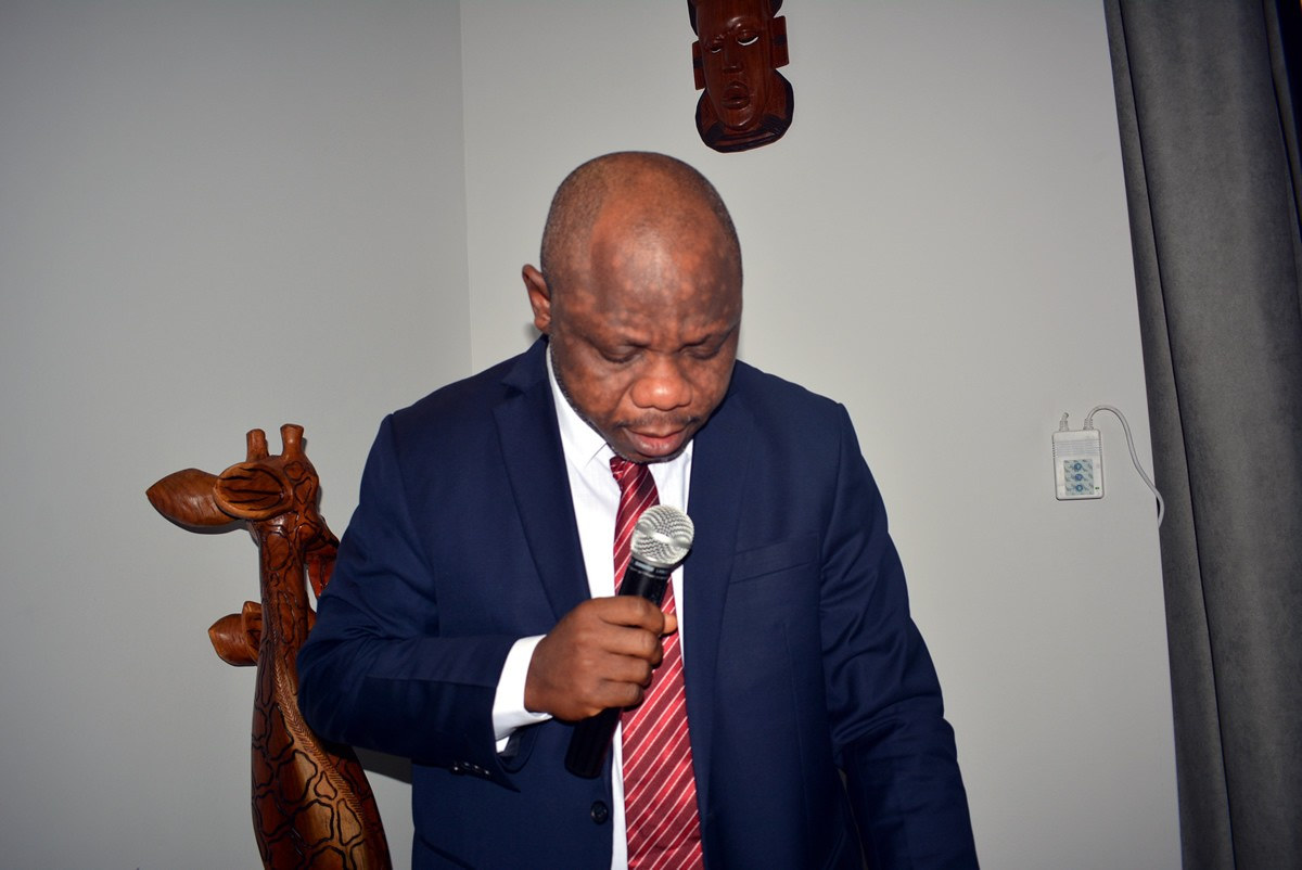 Finance-and-Development-Planning-Minister-Hon.-samuel-D.-tweah-Jr.-marking-remark-at-the-Launch-ceremony
